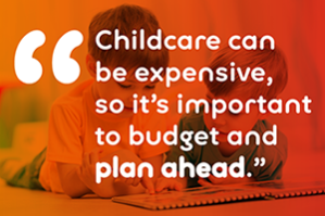Childcare costs quote