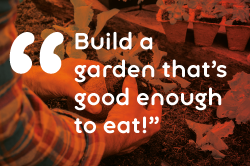 sustainable gardening quote