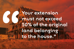 house extension quote